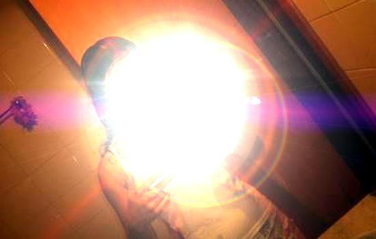 flash-no-espelho